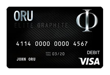 ORU Visa Debit Card